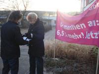 Gespräche mit Mitarbeiterinnen in Neuhardenberg am 09.03.2012